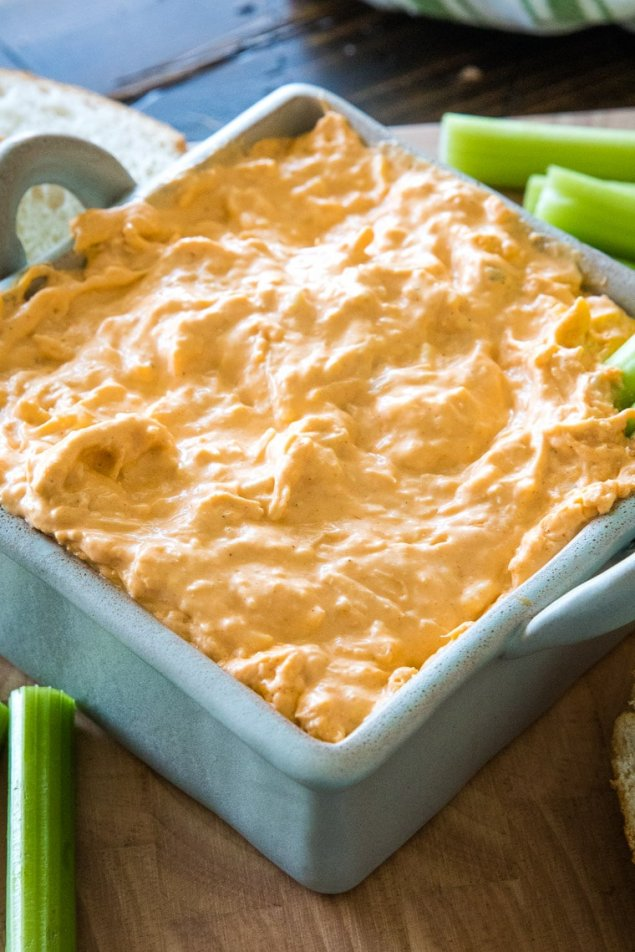 Box Size Buffalo Chicken Spread